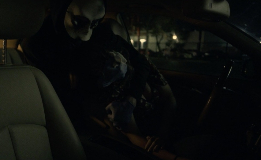 The Man in the Back Seat