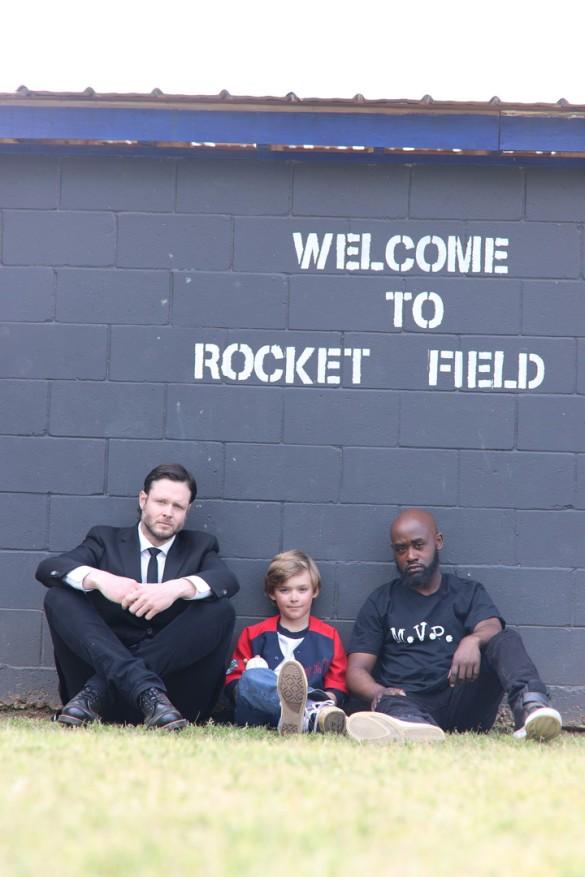 Angels in Rocket Field
