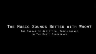 The Music Sounds Better with Whom: The Impact of Artificial Intelligence on the Music Experience