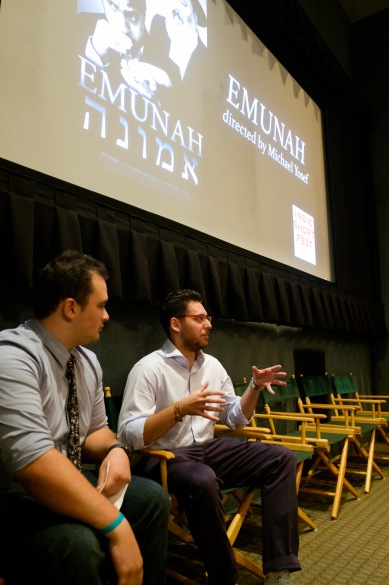 Director Michael Yosef during his Q&A