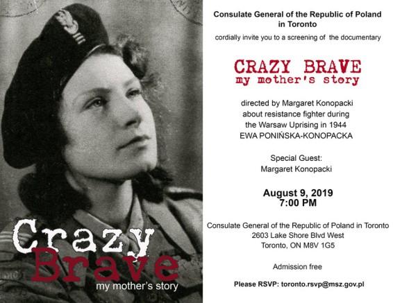 Crazy Brave: My Mothers Story