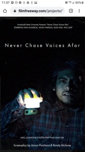 Never Chase Voices Afar (Short Script)