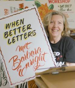 When Better Letters Met Barbara Enright